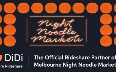 Ride with DiDi to the Melbourne Night Noodle Markets